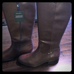 Ralph Lauren New Riding boots wide calf size 10